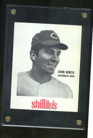 ... but here is a picture of a very rare 1968-70 Shillito's Johnny Bench