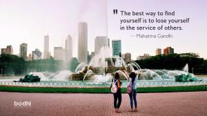 Wednesday Wisdom: Mahatma Gandhi On Service
