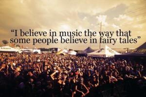 believe in music & fairy tales