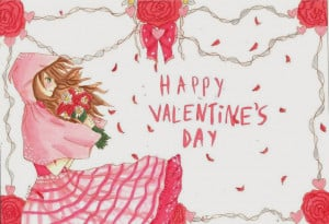 Anime Quotes About Happiness Happy Valentines Day Anime