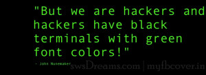 is your destination for high quality typography hacker quote facebook ...