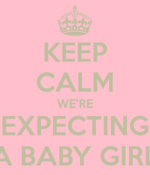 expecting a baby girl quotes