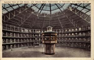 Postcard of an American panopticon: