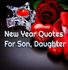 Happy New Year Daughter Quotes