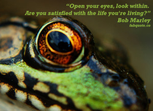 Bob Marley – Open your eyes Quote