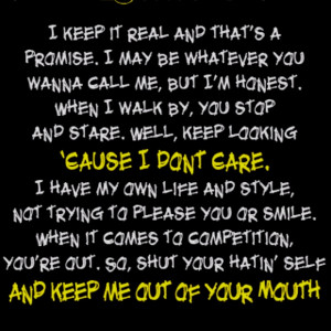 Love My Haters Quotes To all my haters!