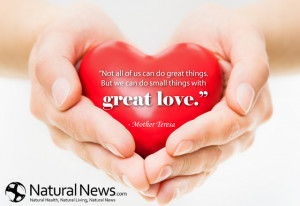"... great things. But we can do small things with great love."" - Mother"