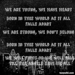 Young Hollywood Undead Quotes