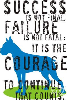 Boxer Dog Art Print 8 x 10 Winston Churchill Quote by GoingPlaces2, $ ...
