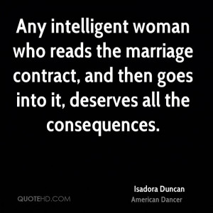 Isadora Duncan Marriage Quotes