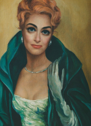 Joan Crawford by Margaret Keane