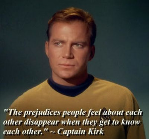 Star Trek Captain Kirk quote