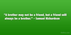 Samuel Richardson Quote