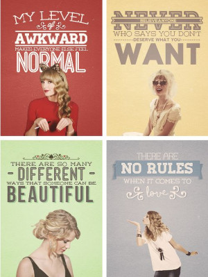 taylor swift quotes | Tumblr @Hunter Cochran you're the top left :)