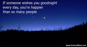 Good Night Quotes for Facebook Status