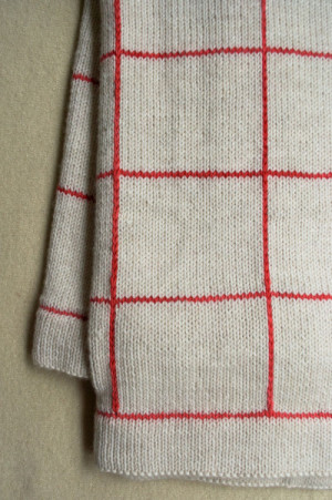 Lines + Squares Baby Blanket