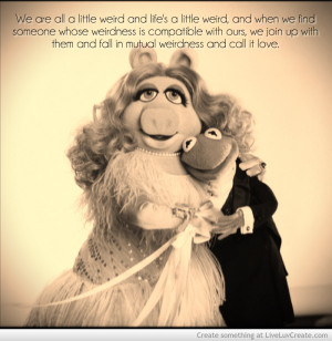 Weird Muppet Love