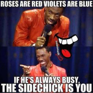 Rules and Regulations For the Side Chick on Valentine's Day
