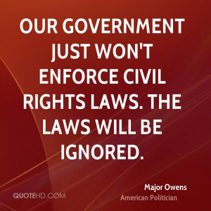 Major Owens Quotes