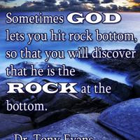 God is the Rock Quote