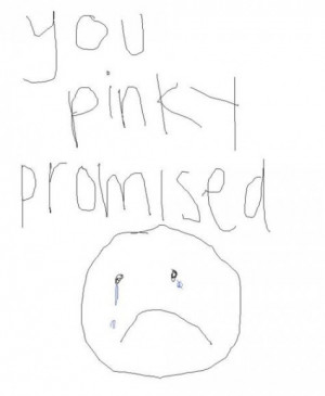 Libby and I pinky promise always have and always will. (never broken)