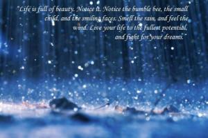 Rainy Day Pics And Quotes