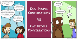 cat people vs dog people