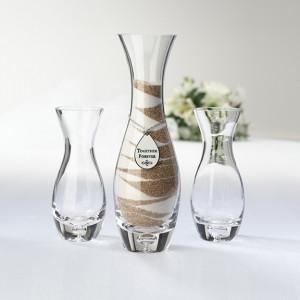 Wedding Unity Sand Ceremony Vase with Sand Set