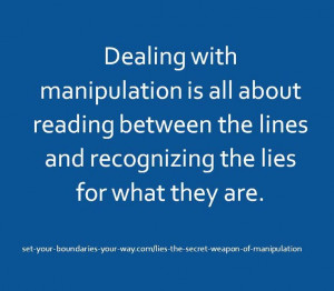 Quotes About Lies And Manipulation Cristimoise