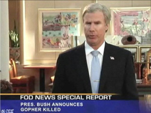 Will Ferrell reprises George Bush – at Sizzler | PopScreen