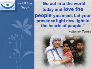 Love Quotes Mother Teresa: Mother Teresa Quotes On Kindness ...