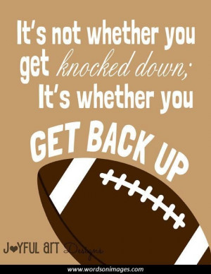 quotes about teamwork football