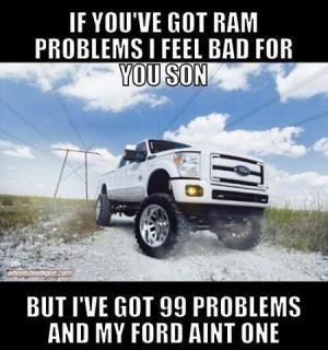 If you've got ram problems I feel bad for you sonBut I've got 99 ...