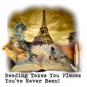 Reading Takes You Places You've Never Been! - Polyvore