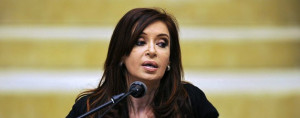 Argentinian President Cristina Kirchner AFP/Getty Images
