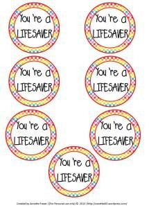 Canny image throughout you're a lifesaver printable