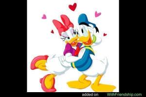 Daisy Duck Glitter