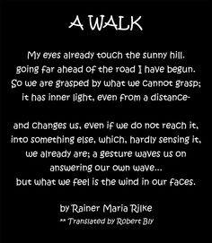 Rainer Maria Rilke,