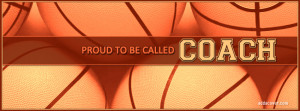 Basketball Coach Facebook Cover