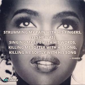 ... Me Soft Lyrics, Junk Food, Lauryn Hills Lyrics, Music Lyrics, Kill Me