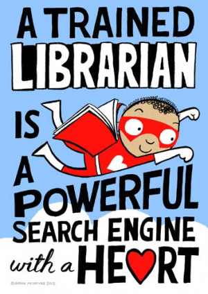 Dozen Red Reasons We Love Libraries