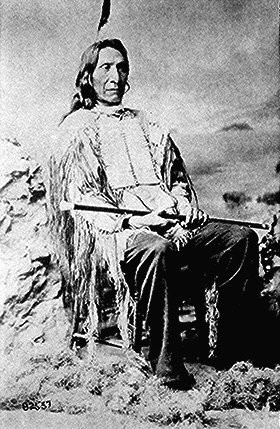 Red Cloud died on the Pine Ridge on 10th December, 1909.
