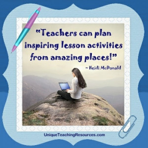 Motivational quote of the week – Lesson plans