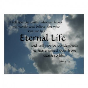 Eternal Life by PointofviewbyLou