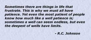 quotes about patience with others
