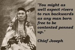 Chief joseph famous quotes 5
