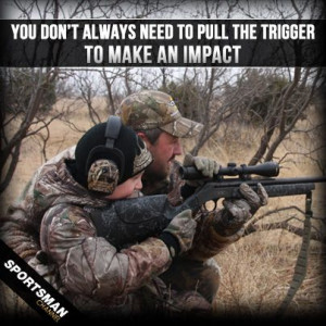 Take a youth hunting!