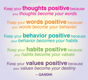 negative thinkers are those people who spread negative vibes ...