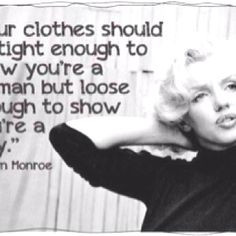 Women with class and self respect