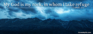 My God is My Rock Facebook Cover
